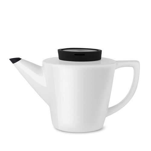 Viva Scandinavia (V24001) Théière en porcelaine Infusion™ (1l) - Noir
