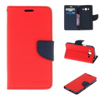 coque portefeuille iphone 7 rouge