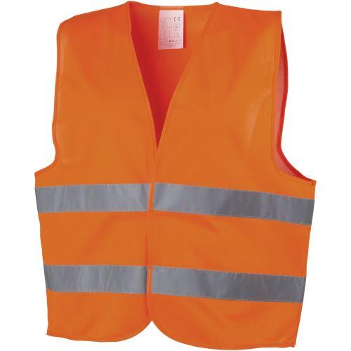 Bullet Professional - Gilet de sécurité (65 x 65 cm) (Orange) - UTPF1968