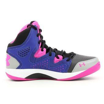 43bbdba0018 Chaussure de Basket Under Armour Micro G Torch 2 Violet rose Pointure -  47.5 - Chaussures et chaussons de sport - Achat   prix