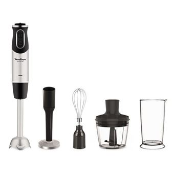 Moulinex Quickchef 4-in-1 Staafmixer 1000W Black/Grey
