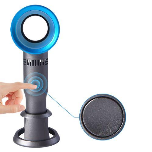 NOUVEAU Mini Held rechargeable sans lame à la main Portable USB Ventilateur pour ordinateur portable de bureau