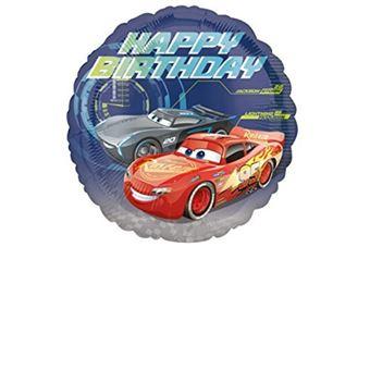 Amscan 3536601 C Standard Cars Joyeux Anniversaire Ballon Article