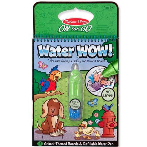 Peinture À L'eau Pour Enfants Cahier D'activité Animaux
