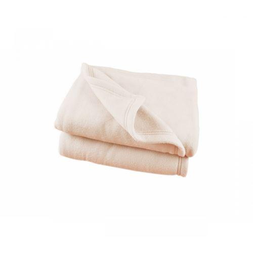 Couverture Polaire Ecru Polex 100% polyester 350g 180x220