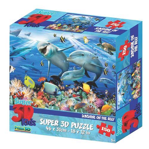 puzzle puzzle 3D Sunshine on the Reef150 pièces