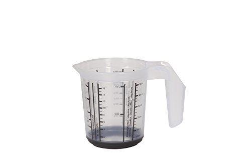 Keeeper 1049082615500 massimo verre mesureur polypropylène graphite 10,5 x 10,5 x 11,5 cm