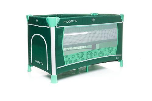 Lit parapluie deux niveau avec table à longer HODERN - max 14kg turquoise foncé