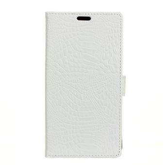 Couverture en cuir de support de portefeuille de texture de