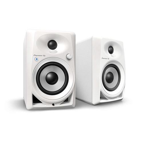Pioneer DM-40BT Haut-Parleur Blanc - Hauts-parleurs (2-Voies, avec Fil &sans Fil, 3,5mm/Bluetooth, 70-30000 Hz, 10000 Ohm, Blanc)