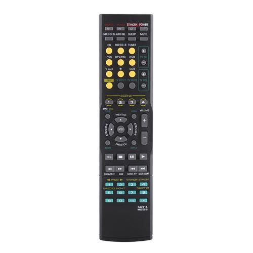 Télécommande d'Audio pour YAMAHA RAV315 WN22730 EU