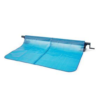 aliexpress great fit buy best Enrouleur + Bâche à bulles pour piscine tubulaire rectangulaire 5,49 x 2,74  m - Intex