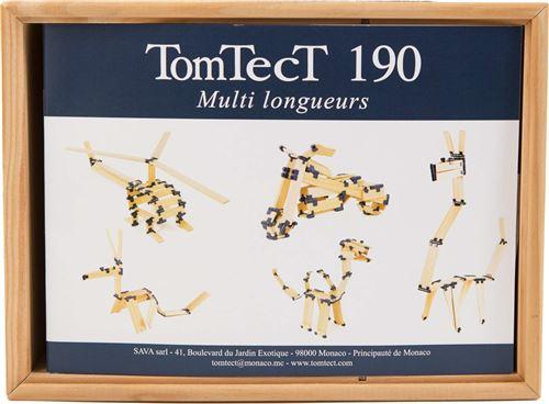 TomTecT - Boite 190 pièces Plastique,Bois Massif - TTT-190