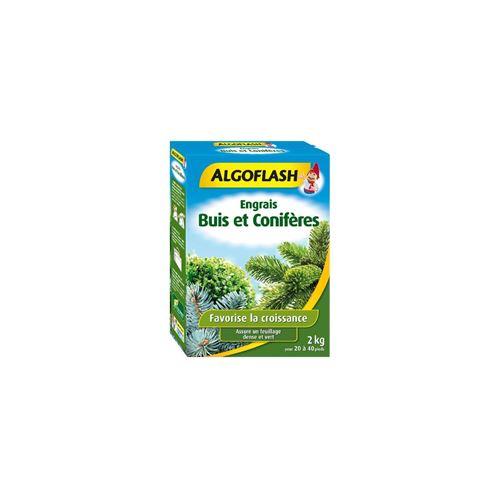 ALGOFLASH Engrais Buis et Coniferes - 2kg