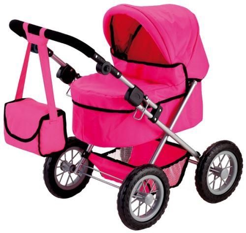 Bayer transport de poupée à la Trendy rose foncé 67 cm