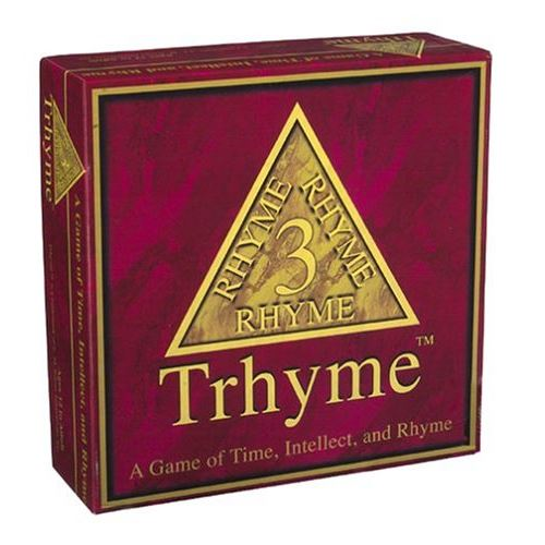 Trhyme - A game of Time, Intellect and Rhyme