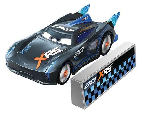 Disney voiture Voitures Jackson Storm7 cm noir 2 parties