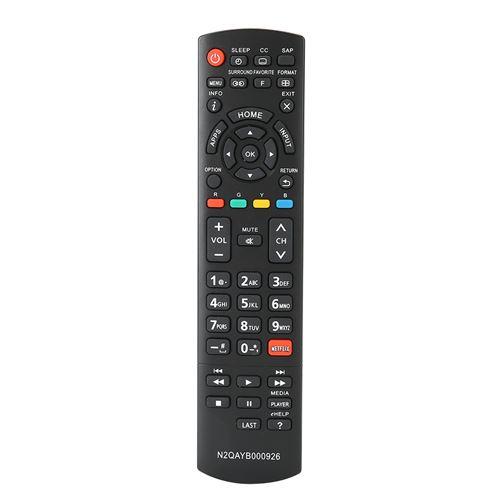 Télécommande du téléviseur LCD intelligent 10 mètres longue distance pour N2QAYB000926