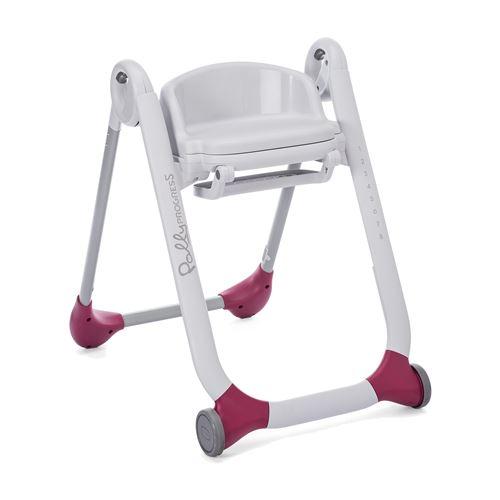 Chicco siège de chaise haute pour Polly Progress 41 x 30 cm blanc/violet