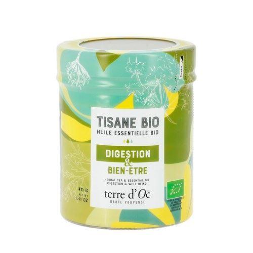 Tisane Terre d'Oc huiles essentielles bio Digestion