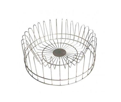 Égouttoir Vaisselle Circulaire Métal Gris