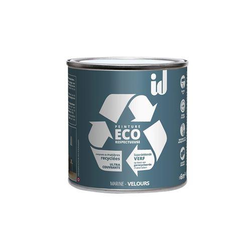 Peinture Eco Respectueuse Marine 500ml - Id Paris