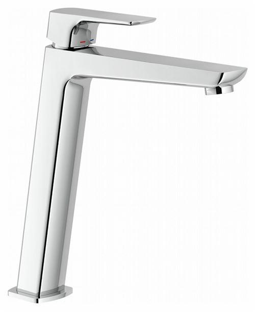 Mitigeur lavabo ACQUAVIVA rehaussé - Chromé