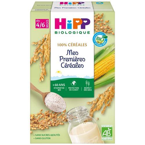 HIPP BIOLOGIQUE Mes premières céréales (Dès 4/6 mois) - boite de 250g