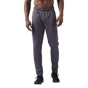 Pantalon Reebok Workout Ready Gris XXL - Pantalons de sport - Achat   prix   fbd40fa2fcd