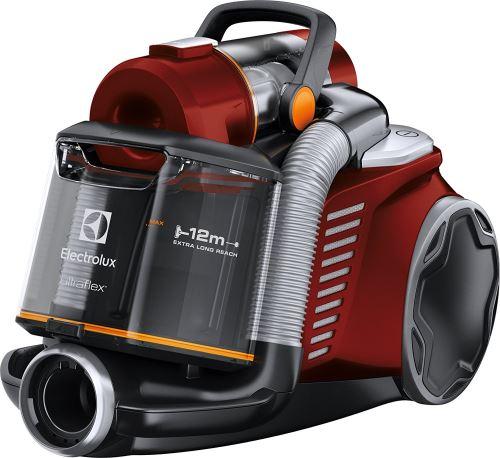 Electrolux euf8animal aspirateur sans sac Ultraflex, système Motion Control, Hygiene Filter 12, Chilli Red