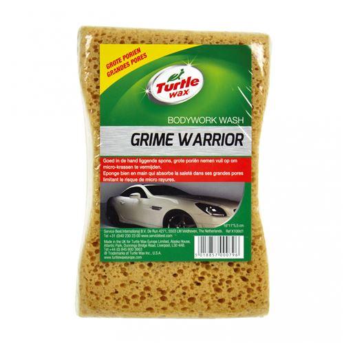 Turtle Wax éponge Heavy Duty 16 x 12 x 6 cm marron