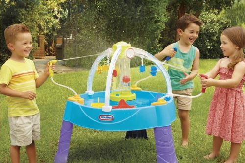 Little Tikes table de jeu Battle Splash Water Table