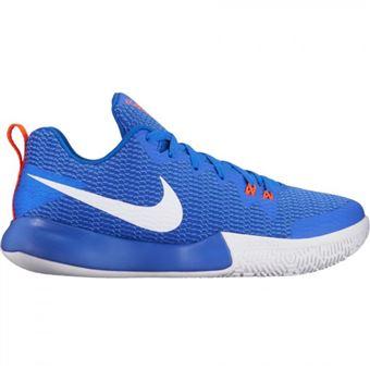 Chaussure de Basketball Nike Zoom Live II Racer Bleu Pour