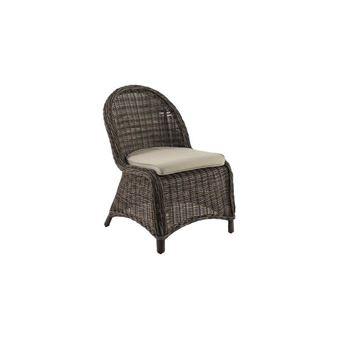 Lot de 2 chaises en résine Hespéride Betong
