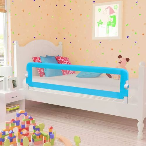 Barrières de lit pour enfants 150 x 42 cm Bleu | Bleu