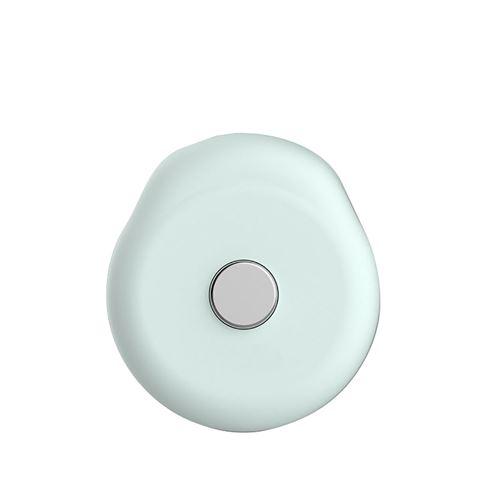Thermomètres autocollant de corporelle bluetooth à domicile intelligent pour enfants -vert