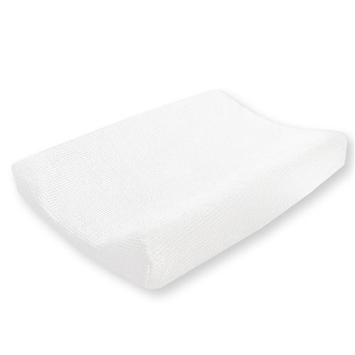Cottonbaby housse de matelas à langer Wafel48 x 72 cm blanc