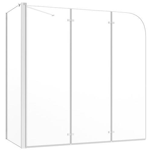 Enclos de bain 130x130 cm Verre trempé Transparent