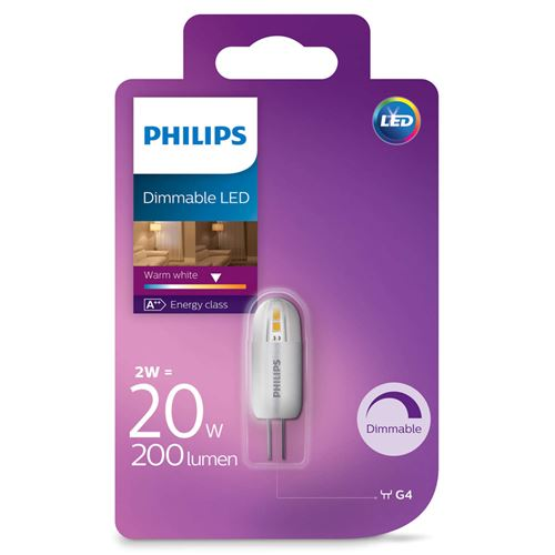Philips LED 20W G4 WW 12V dim 1BC / 4 Eclairage