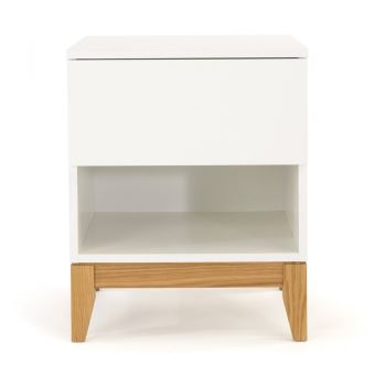 20% sur Table/chevet design scandinave 1 niche Blanco - Couleur ...