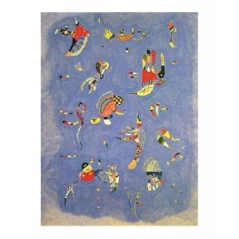 Vassily Kandinsky Poster Reproduction - Bleu De Ciel, 1940 (50x40 ...