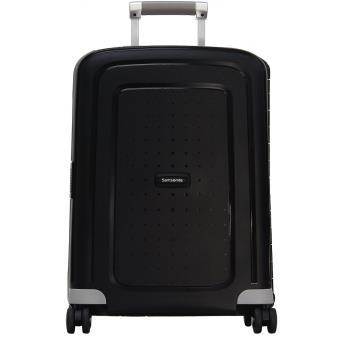 Valise cabine rigide s'cure 55 cm noir Samsonite