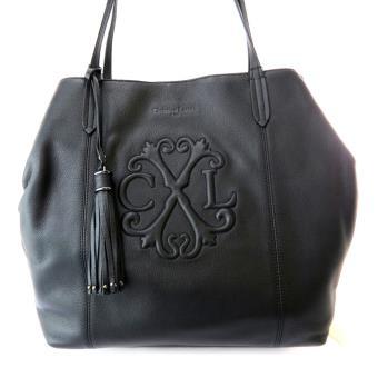 d66c85a7f4 Sac cuir 'Christian Lacroix' noir ... [N4559] - Cabas de courses - Achat &  prix | fnac