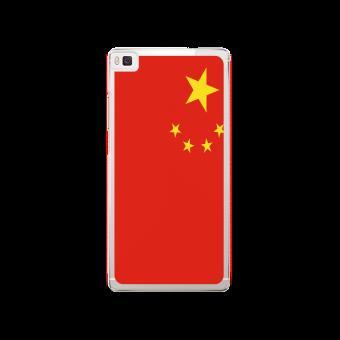 Drapeau De Chine coque huawei p8 lite 2017 / p9 lite 2017 silicone motif drapeau