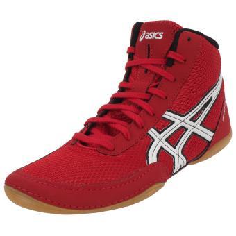 Adulte Rouge Lutte Chaussures De Homme 42 Asics Matflex Pointure Hq0PH