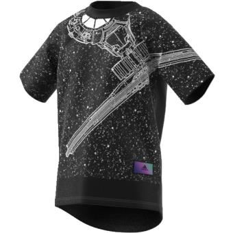 Adidas T shirt Star Wars noirblanc Taille 56 ans Enfant