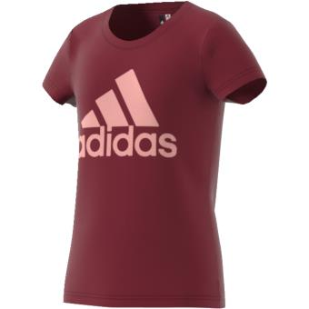 801203af3a1b7 Adidas T-shirt Essentials Logo bordeaux rose pâle Taille 11 12 ans Enfant  Fille - Hauts