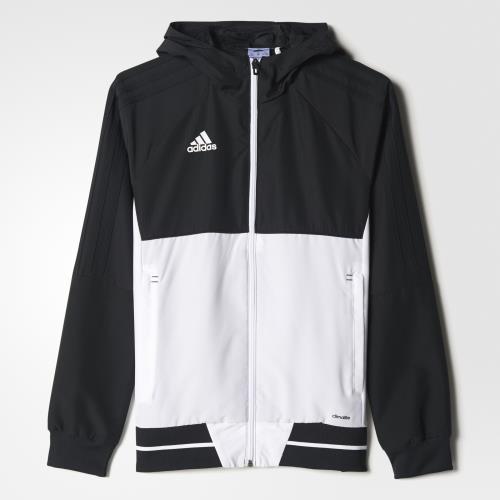 best sale look out for Adidas Veste de présentation Tiro 17 noir/blanc Taille 5/6 ans Enfant Garçon