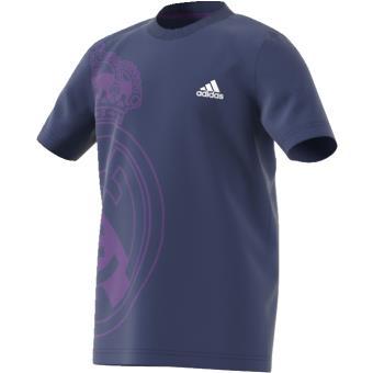 8060f56084b41 Adidas T-shirt Real Madrid indigo Enfant Garçon - Achat   prix