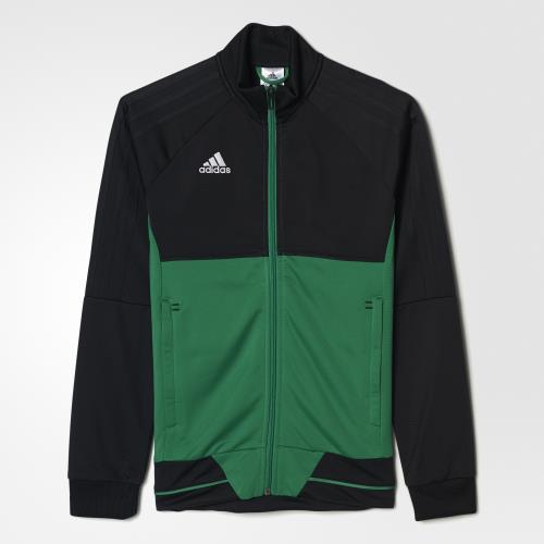 Adidas Veste training Tiro 17 noirvertblanc Taille 1112 ans Enfant Garçon